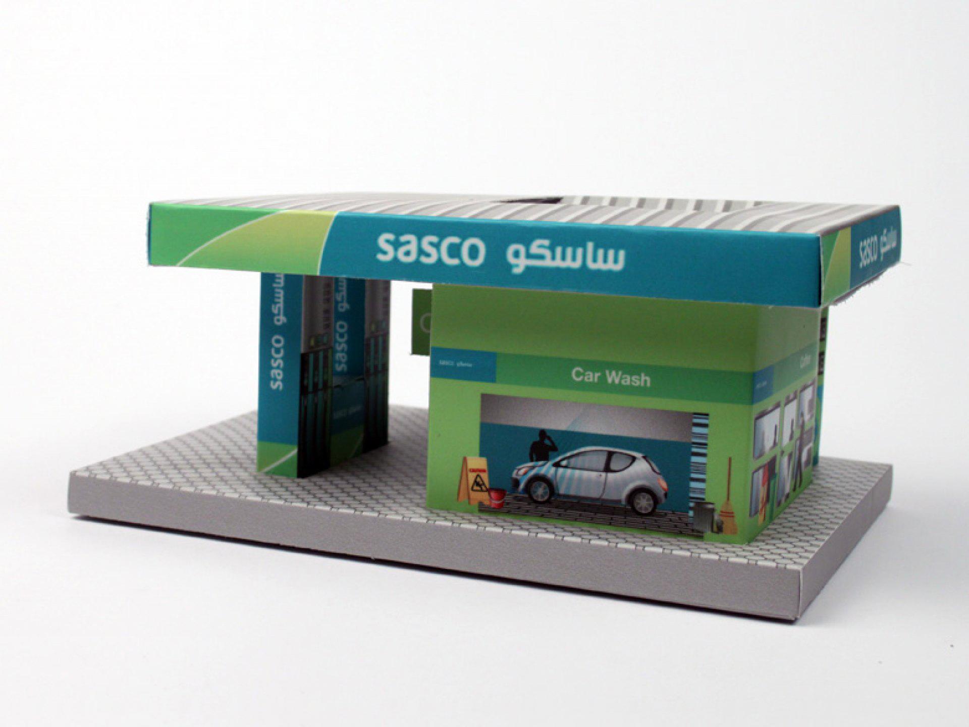 stazione di servizio packaging